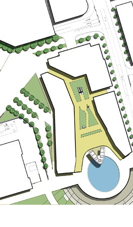 site plan city centre vertical theme park